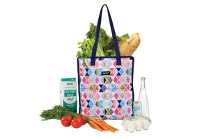 Grocery Shopping Tote Bag - Festive Gem