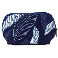 Load image into Gallery viewer, Snack Bag - Navy Leaves