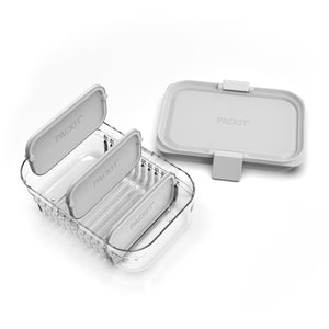 Mod Lunch Bento Container - Grey