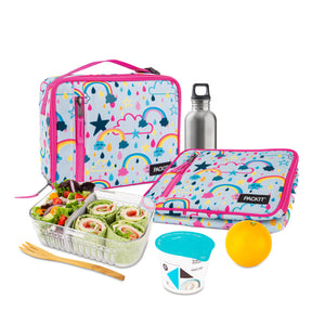Freezable Classic Lunchbox Bag - Rainbow Sky