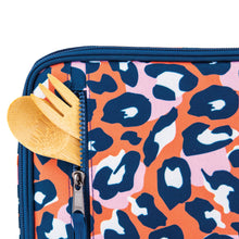 Load image into Gallery viewer, Freezable Classic Lunchbox Bag - Wild Leopard Orange