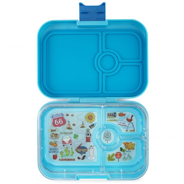 Yumbox™ Panino - Blue Fish