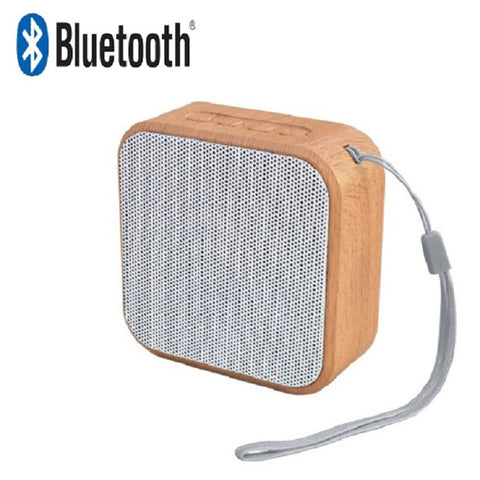 Mini Portable Wooden Speaker - mylovemyfav