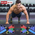 9 in 1 Push Up Rack Board - mylovemyfav