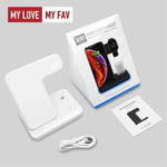 3 in 1 15W Fast Wireless Charger - mylovemyfav