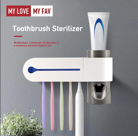 Ultraviolet Toothbrush Disinfector - mylovemyfav