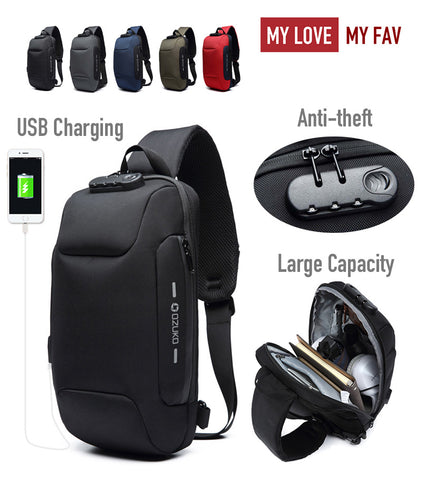 Multi-function Crossbody Bag for Men - mylovemyfav