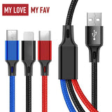 3 in 1 USB Cable - mylovemyfav