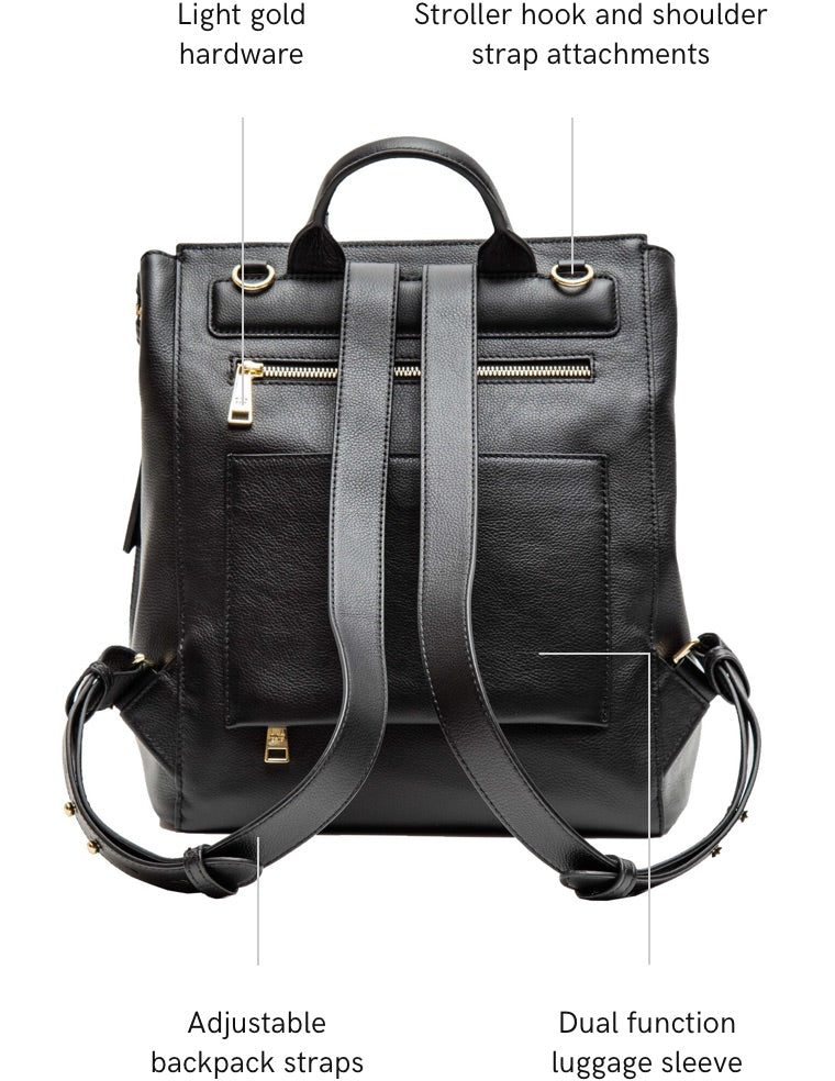 harper midi backpack features