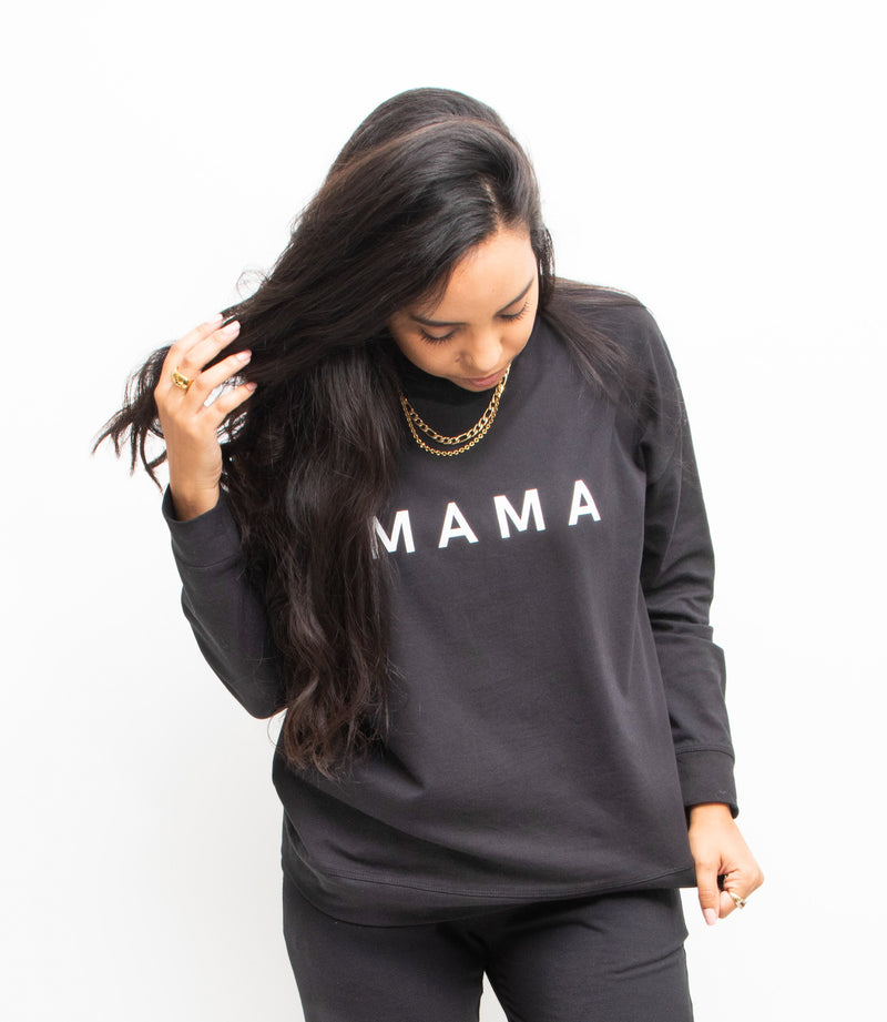 """MAMA"" Long Sleeve Tee"