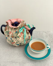 Load image into Gallery viewer, Birds & Flowers Tea Cozy