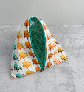 Midcentury Love Sock-Sized Project Bag