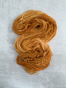 Harvest Gold Pure BFL Yarn