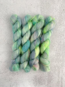 Heart of Glass Mohair Silk Yarn