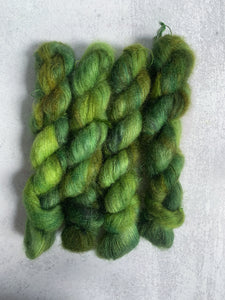 Moonlight Through the Pines Mohair Silk Yarn