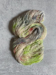 Post Apocalyptic Dance Party BFL Sock Yarn