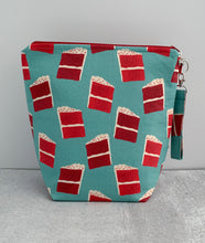 Load image into Gallery viewer, Red Velvet Cake Sweater Weather-Sized Project Bag
