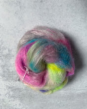 Load image into Gallery viewer, Unicorn at the Skating Rink Mohair Silk Yarn