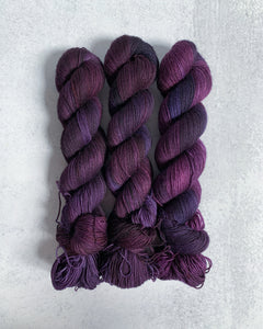 The Sounds of Silence 2-Ply BFL Sock Yarn