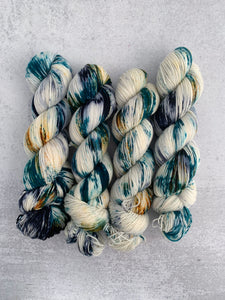 Starry Night Targhee Sock Yarn