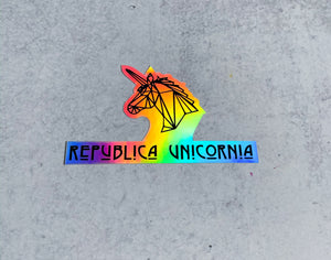 Republica Unicornia Stickers