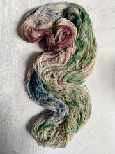 Load image into Gallery viewer, Strange But Not a Stranger Bronze Sparkle Sock Yarn