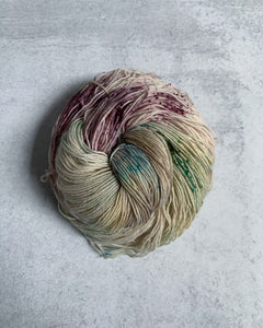 Strange But Not a Stranger BFL Sock Yarn