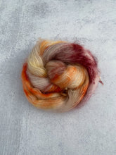 Load image into Gallery viewer, Tea and Oranges Mohair Silk Yarn