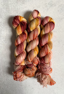 Tea and Oranges 2-Ply BFL Sock Yarn