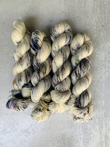 The Diamonds From The Deepest Ocean Targhee Sock Yarn