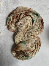 Load image into Gallery viewer, Tupelo Honey Bronze Sparkle Sock Yarn