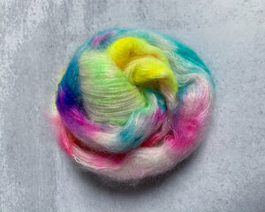 Unicorn Birthday Party Mohair Silk Yarn