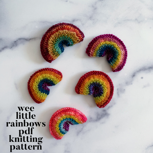 Wee Little Rainbows PDF Pattern