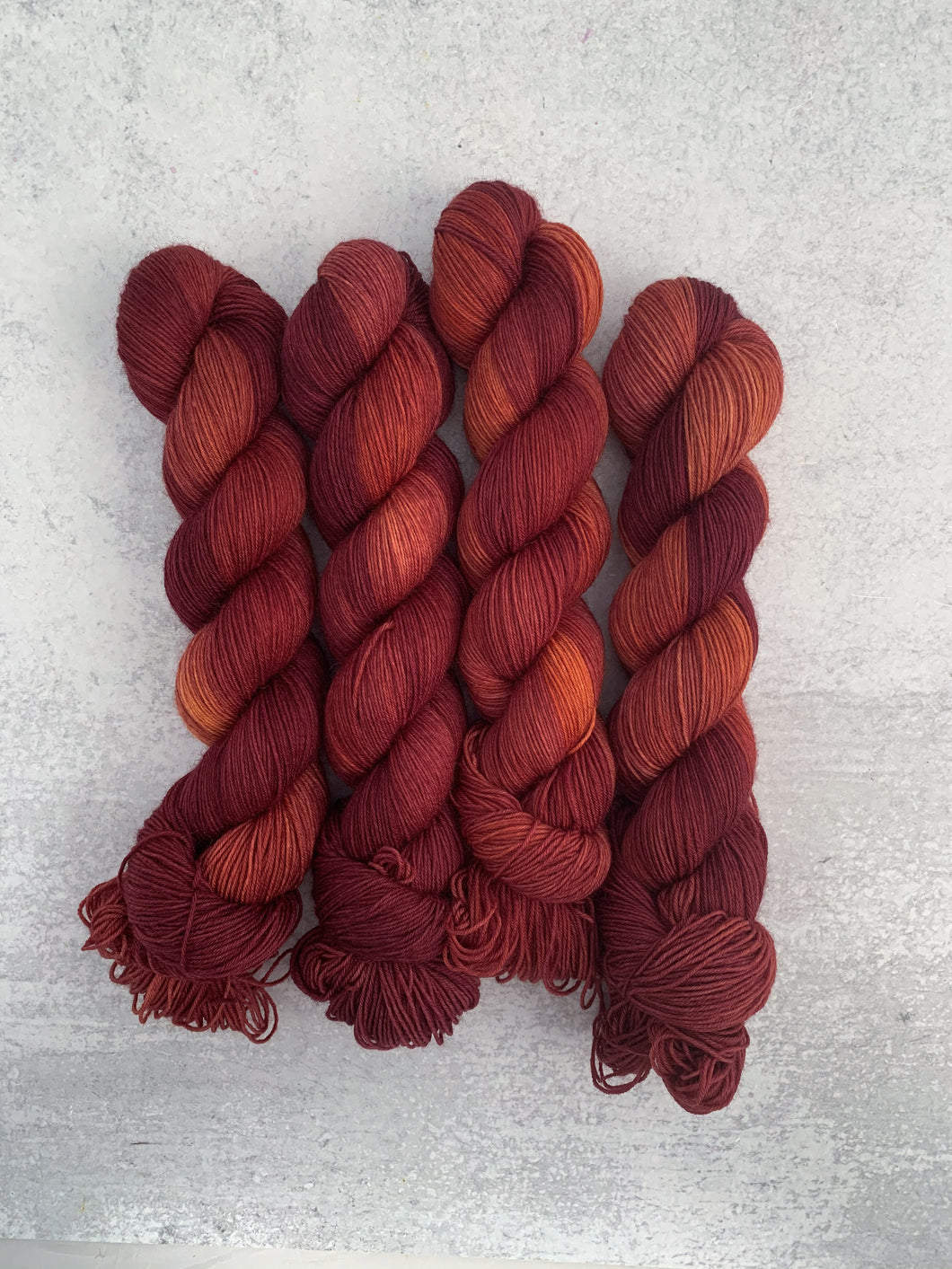 Winesap BFL Sock Yarn