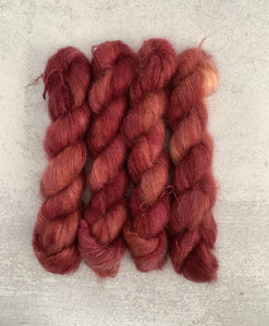 Winesap Mohair Silk Yarn