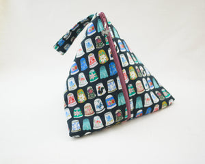 Thimbles Zippered Sock-Sized Project Bag