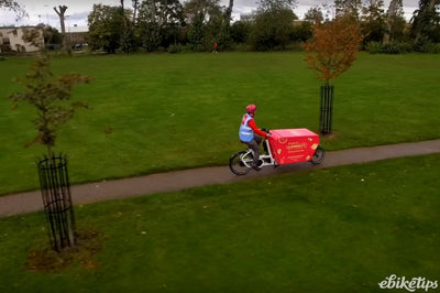 E-cargo bikes being used to redistribute surplus food during lockdown