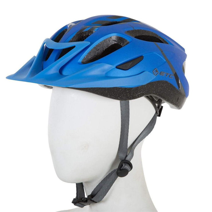 ETC Helmet ETC L630 Adult Leisure Helmet- Blue