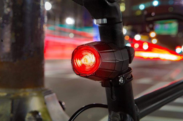 Icycleelectric Lights Fortified Front/Rear Bike Lights! Theft-Proof Lock On
