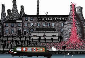 Middleport pottery canal