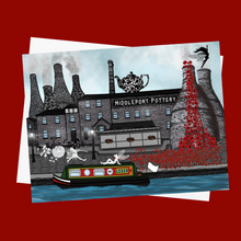 Load image into Gallery viewer, Middleport Pottery print