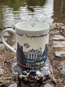 Staffordshire/ Stokie Bone China mug