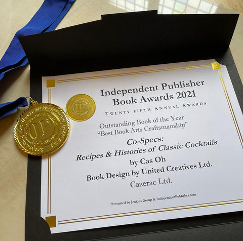 CO Specs by Cas Oh wins an IPPY Award 2021