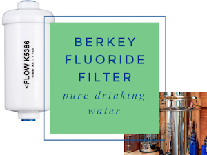 Berkey Fluoride Filter – For Pure Drinking Water