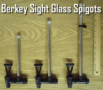 What Are Berkey Sight Glass Spigots and How Do They Work?