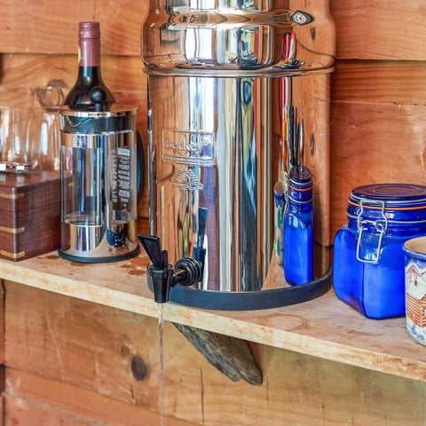 Big Berkey On Shelf