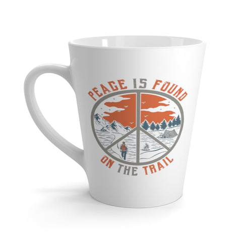 Image of Peace Is Found On The Trail Hiking Mug