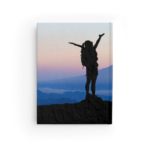 Image of Peace Is Found On The Trail Journal