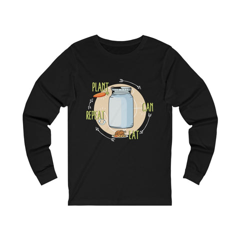 Image of Plant, Can, Eat, Repeat Long Sleeve Tee