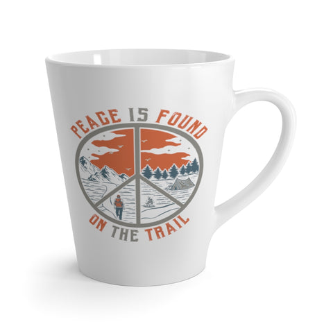 Peace Is Found On The Trail Hiking Mug